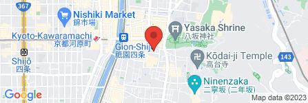 地図 祇園 はやかわ