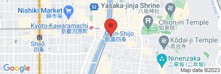 地図 天壇 四条本店