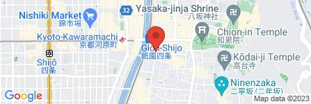 地図 ナカオレコード祇園店