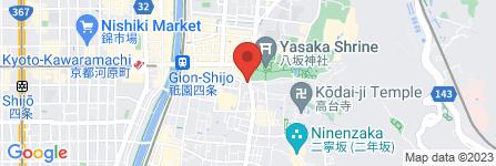 地図 東山ホテル