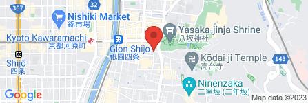 地図 祇園 北川半兵衛