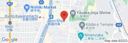 地図 祇園にしむら