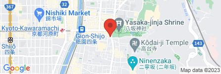 地図 長楽寺宿坊 遊行庵