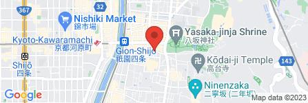 地図 祇園 椿