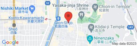 地図 京料理 舞妓