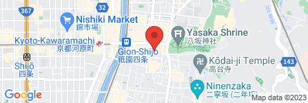 地図 お茶屋 芳きし