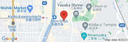 地図 京料理 美登幸