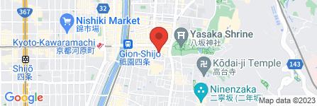 地図 祇園新三浦