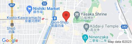 地図 らんぶる祇園店