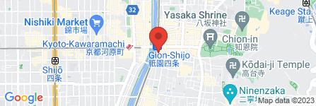 地図 株式会社 日邦レンタカーシステム四条大橋営業所