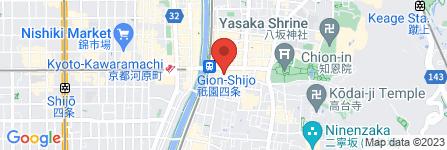 地図 浅野日本酒店 祇園別邸