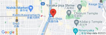 地図 Revival Creation京都祇園店