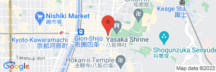 地図 竹とすだれ西河