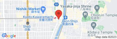 地図 株式会社三井住友銀行/四条支店