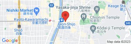 地図 おうちごはん 祇園 和音
