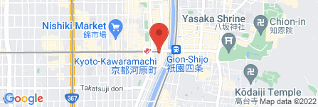 地図 プラージュ/河原町店
