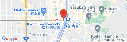 地図 株式会社エイブル/河原町店