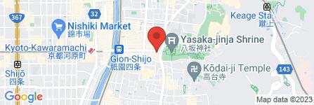 地図 漢字ミュージアム(漢検 漢字博物館・図書館)