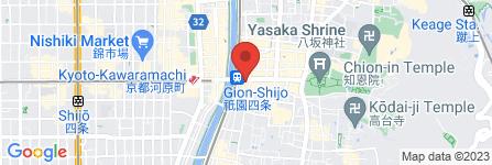 地図 ファミリーマート 京阪四条駅前店