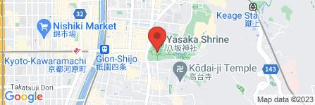 地図 八坂神社