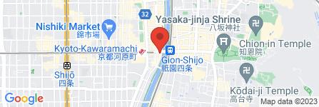 地図 すき家 四条木屋町店