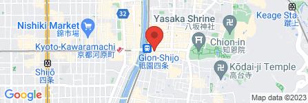 地図 LAOX 京都祗園店