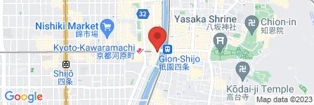 地図 HIGHBALL BAR 京都1923