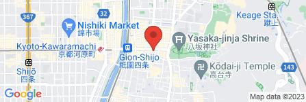 地図 お茶屋 一力亭