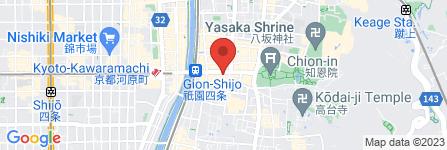 地図 GION MADONNA