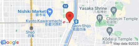 地図 京海鮮和食  蔵ノ庄 河原町