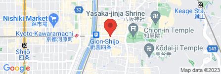 地図 ファミリーマート 四条花見小路店