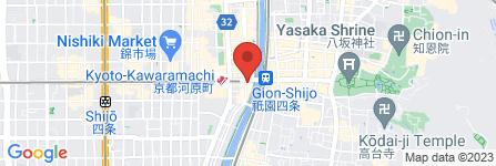 地図 マクドナルド 四条高瀬川店