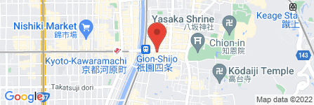 地図 中井白金堂 時計・宝石部