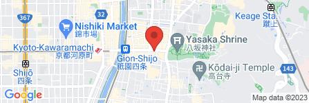 地図 京煎堂 祇園本店