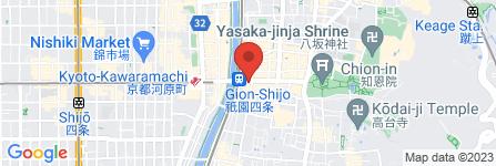 地図 祇をん 松乃