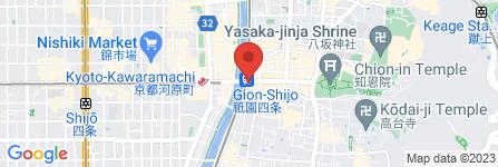 地図 松葉 本店