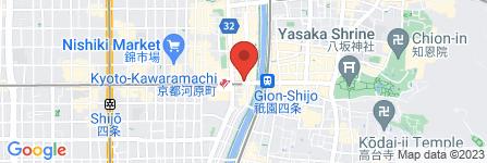地図 栗山大膳堂