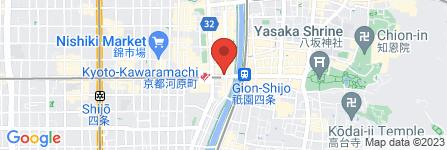 地図 聖護院八ツ橋総本店