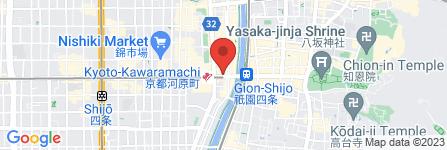地図 カランコロン京都本店