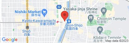 地図 マツモトキヨシ 京都四条河原町店