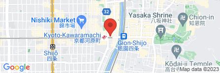 地図 サンマルクカフェ コトクロス阪急河原町店