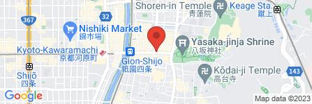 地図 よーじや 祇園店