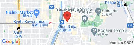地図 祇園 まるん