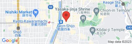 地図 中井白金堂 眼鏡・コンタクトレンズ部