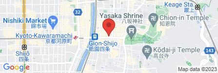地図 京菓匠 栗阿彌