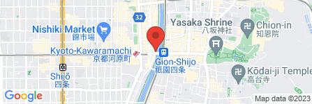 地図 四条交番