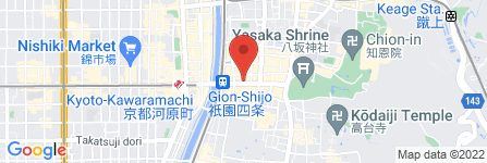 地図 京・月待庵