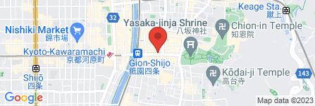 地図 茜屋 祇園店