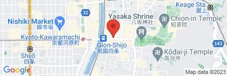 地図 株式会社むら田本社/祇園店