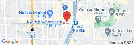 地図 鎌倉パスタ  コトクロス阪急河原町店